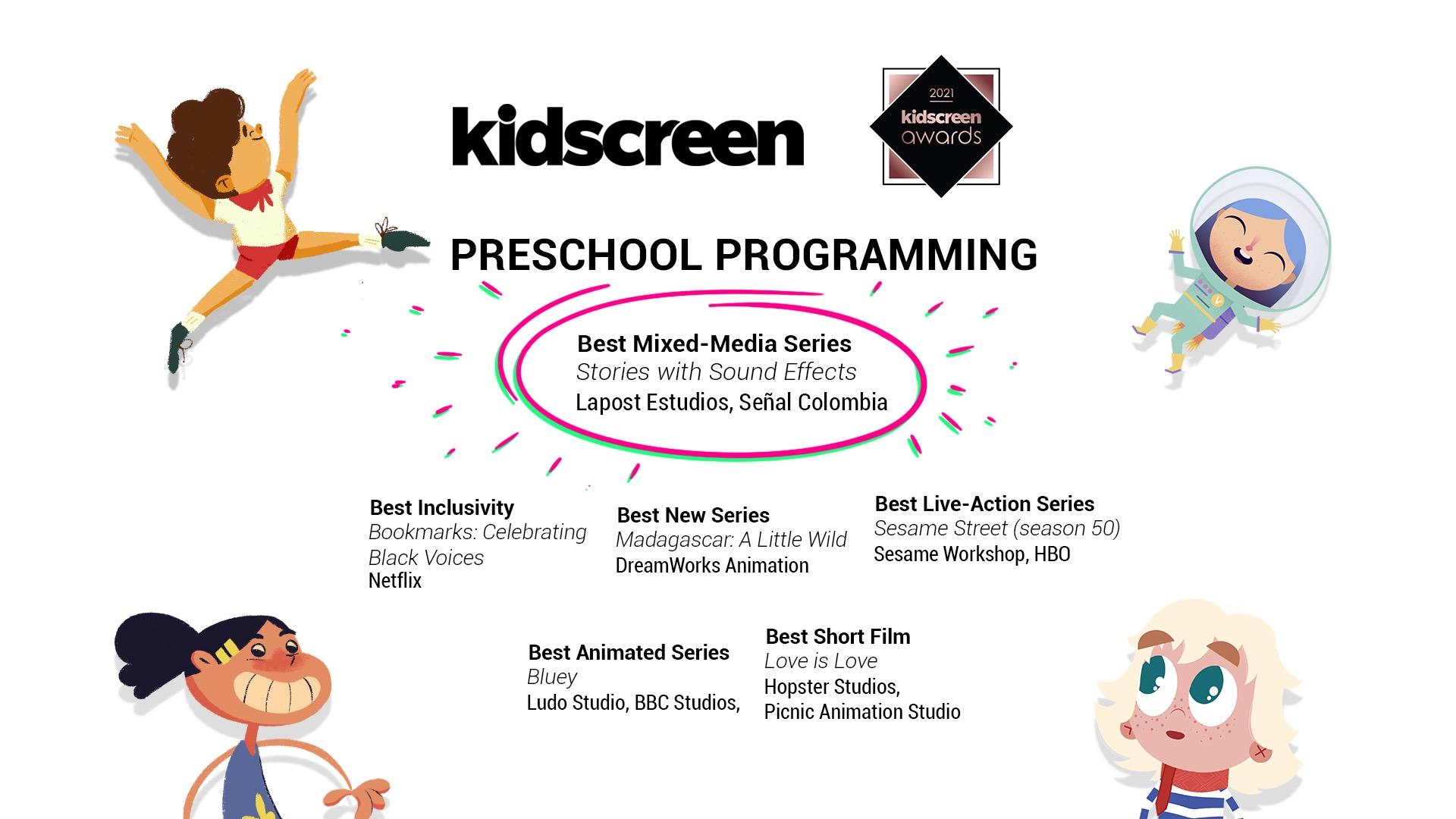 Cuentazos | Kidscreen Awards 2021